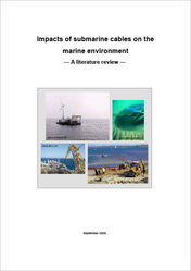 Titelbild Impacts of submarine cables on the marine environment - A literature review